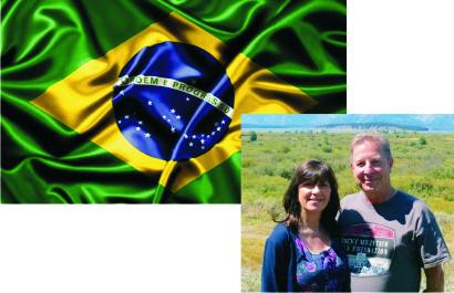 Trevor and Rachel Payne – BRAZIL  2016